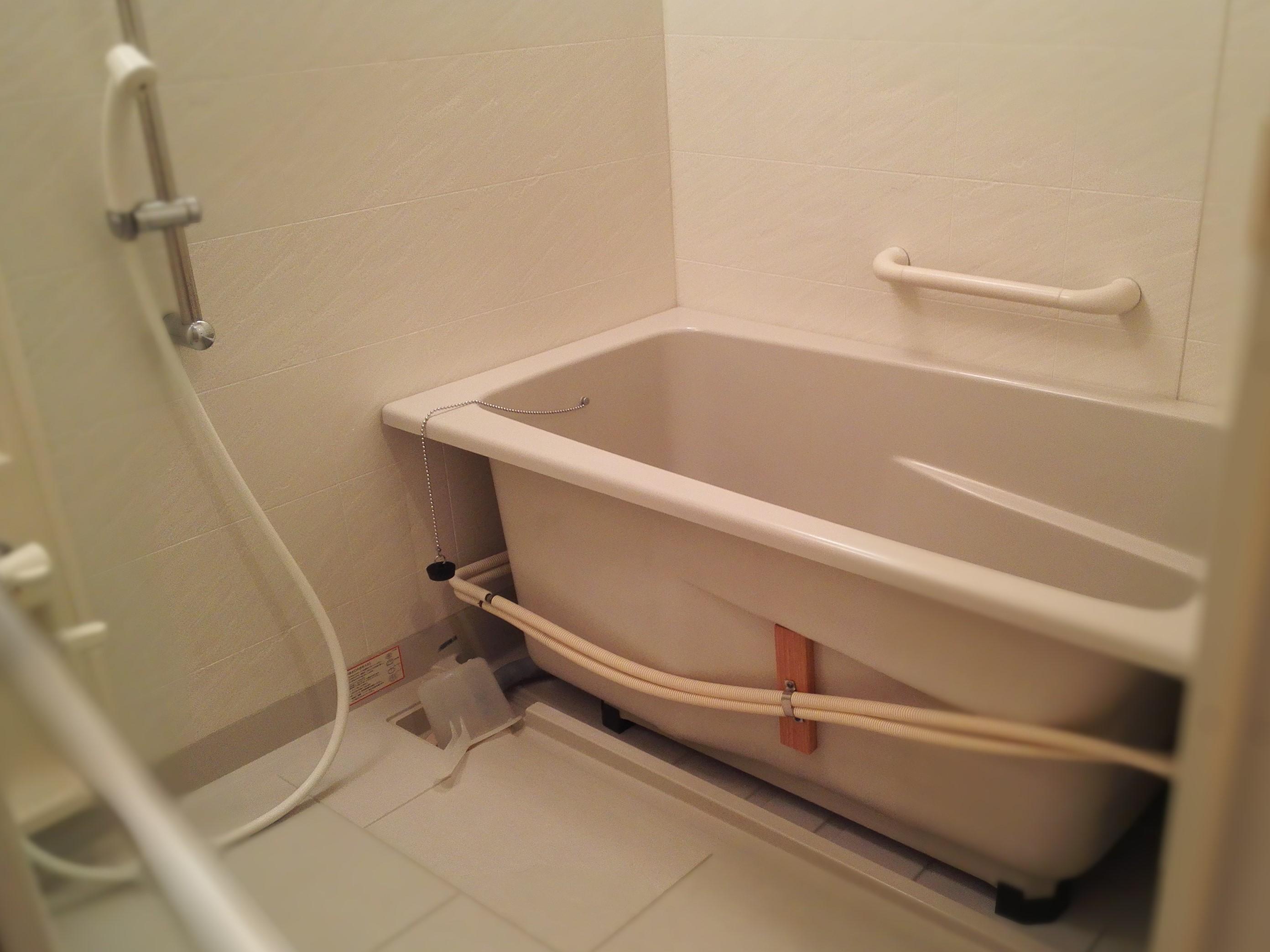 山下町K様、浴室