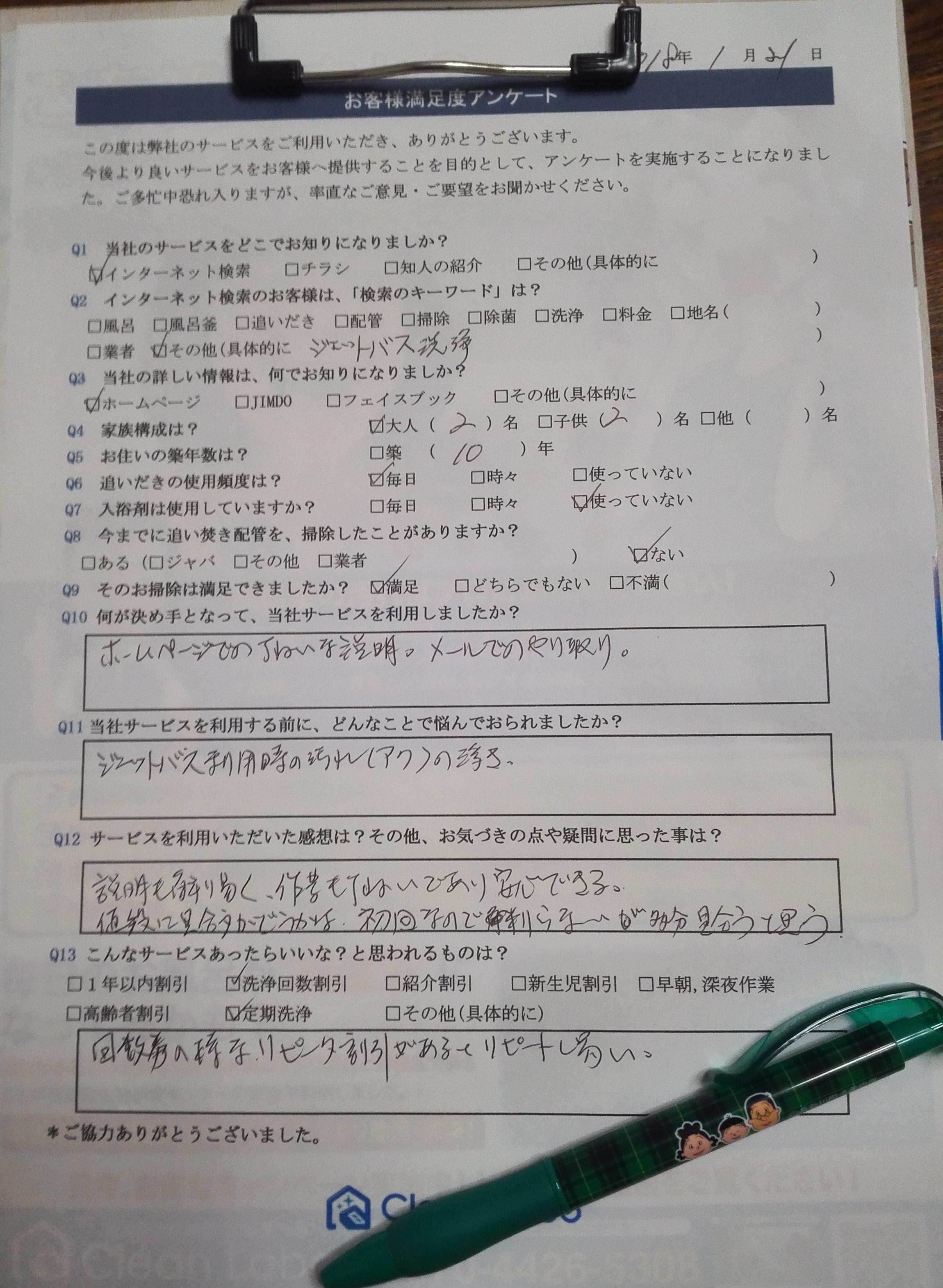 北沢アンケート